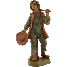 World Nativity Man with hat and bag, 15-16 cm Euro