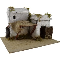 World Cribs Arab House in resin cm 22x18x14 h.