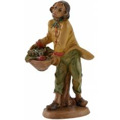 World Nativity Man with basket of vegetables 15-16 cm Euro