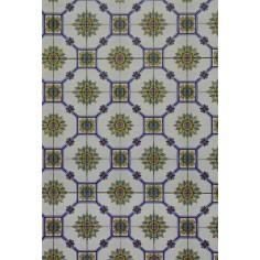 Mondo Presepi Cartoncino pavimento tipo Vietri cm 24,5x16