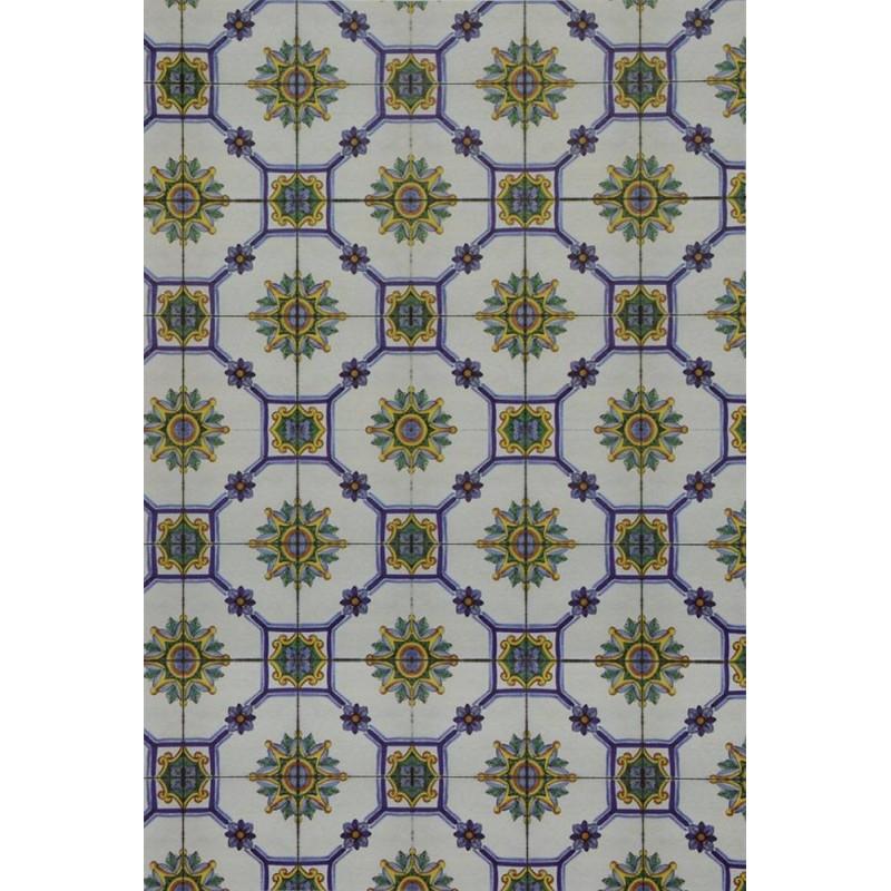 World Nativity Cardboard floor type Vietri cm 24,5x16