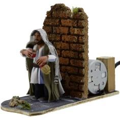 World Nativity Drunkard 8 cm in movement