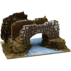 World Cribs River bridge cm 15x10x8 h.