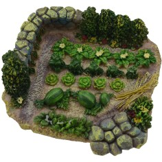 World Nativity Garden resin cm 9,5x9x3 h.