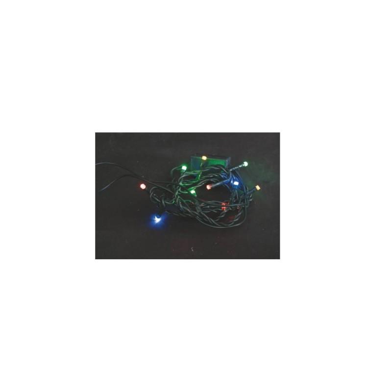 Mondo Presepi 40 Led multicolori per presepe 220V.
