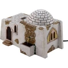 Mondo Presepi Casa Araba con fontana funzionante cm 25x18x16,5