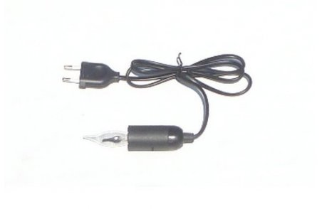 Cable with lamp holder e14 with plug wire + lamp focus 6.5 cm