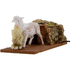 Sheep in motion Fontanini for statues 30 cm