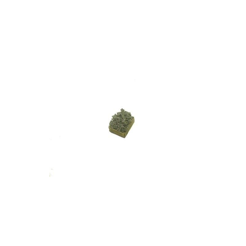 Mondo Presepi Cassetta frutta Uva nera cm 3x2,5