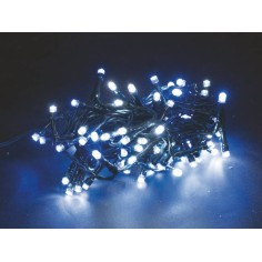 180 xmas white and blue led lights for outdoor-indoor use with games