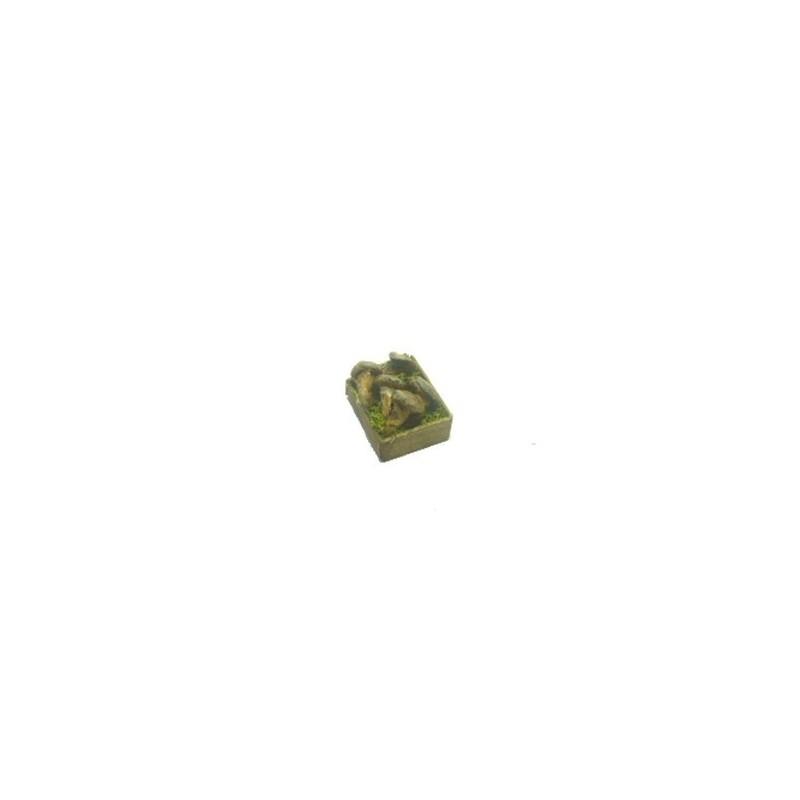 Mondo Presepi Cassetta verdura Funghi cm 2,8x2