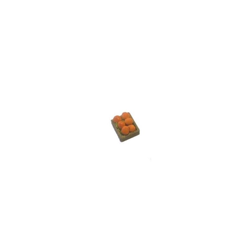 Mondo Presepi Cassetta frutta Arance cm 2,8x2