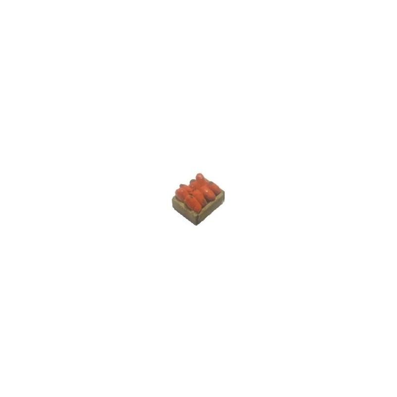 Cassetta verdura Pomodori cm 2,8x2 Mondo Presepi