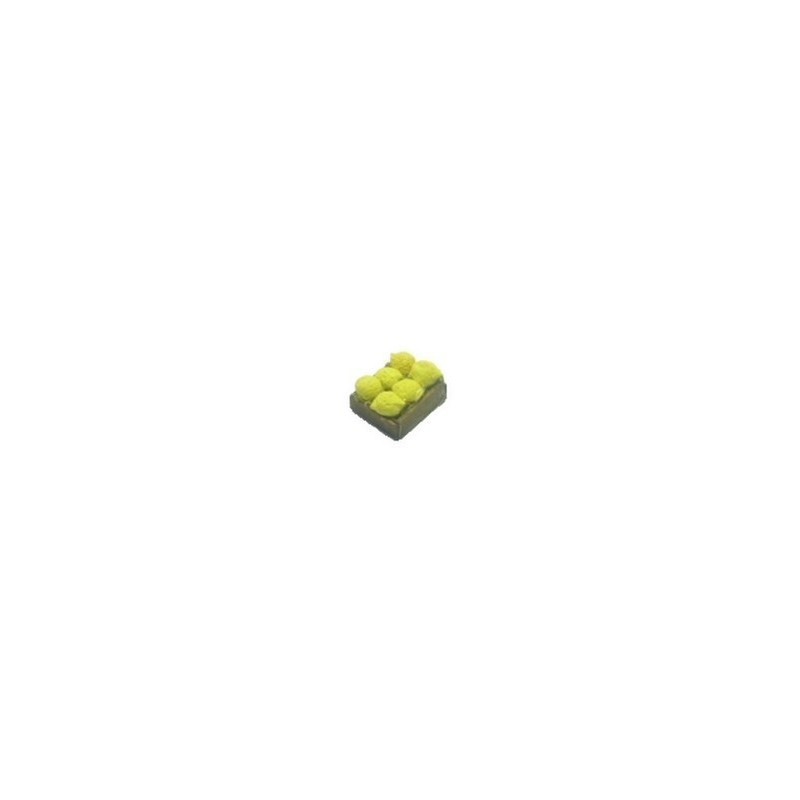 Mondo Presepi Cassetta frutta Limoni cm 2,8x2