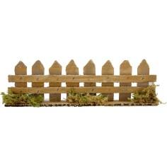 World Presepi Fence in wooden cm 25x4x7 h.