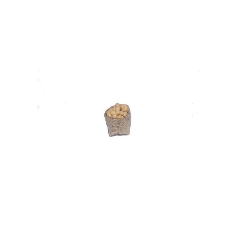 Mondo Presepi Sacco juta cm 3 con uova