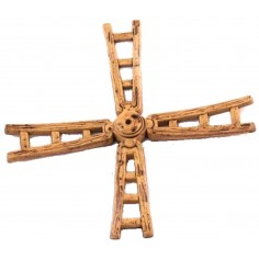 World Nativity Altarpiece of the wind mill 14 cm