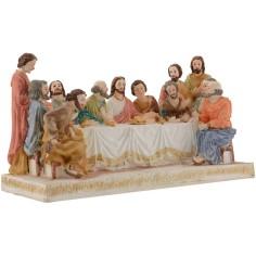 Mondo Presepi Ultima cena altezza con statue 13 cm -