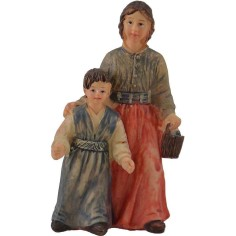 World Presepi Mom with Child Series 10 cm