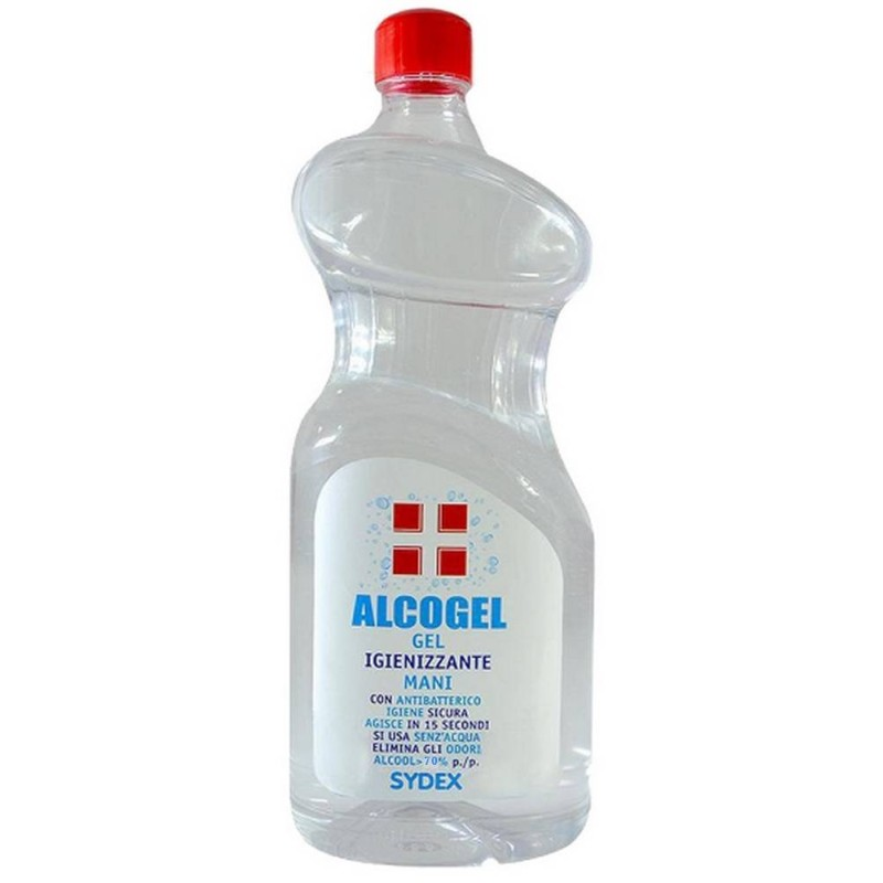Gel igienizzante mani 1 litro con alcool 70%