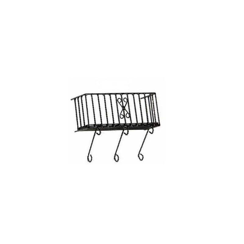 Mondo Presepi Ringhiera per balcone in metallo cm 6 - 426