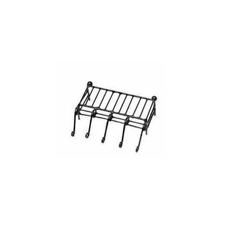 Mondo Presepi Ringhiera per balcone in metallo cm 5 - 6422