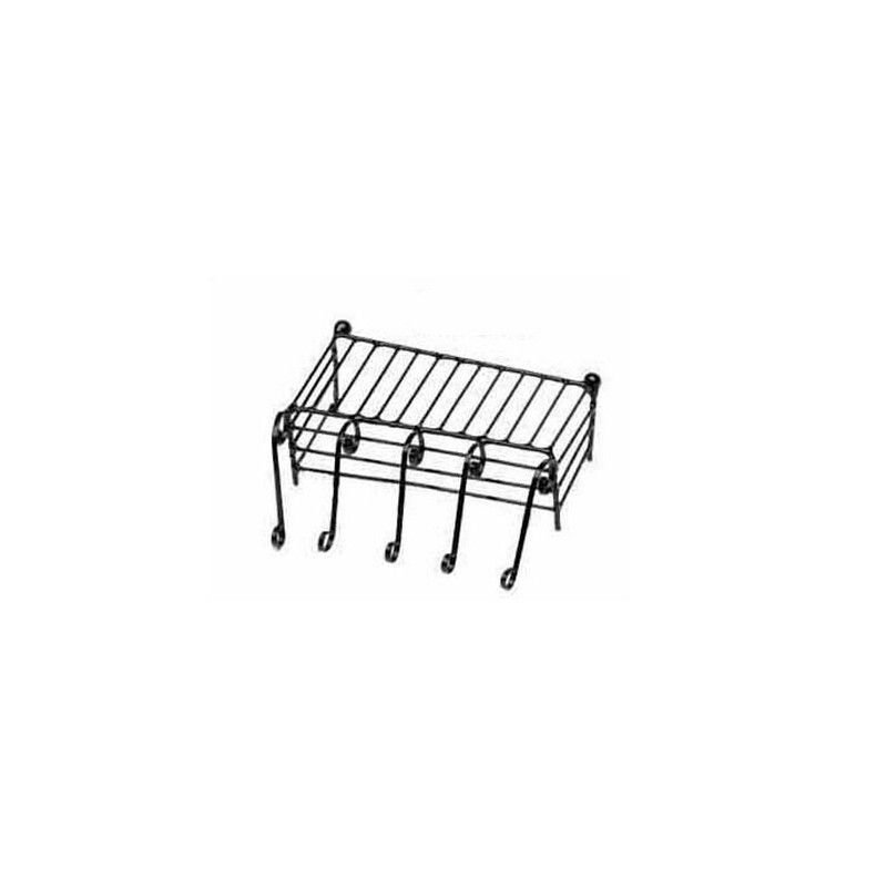 Mondo Presepi Ringhiera per balcone in metallo cm 6 -423