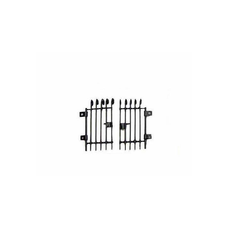 Mondo Presepi Cancello in metallo mignon cm 3x3 -6435