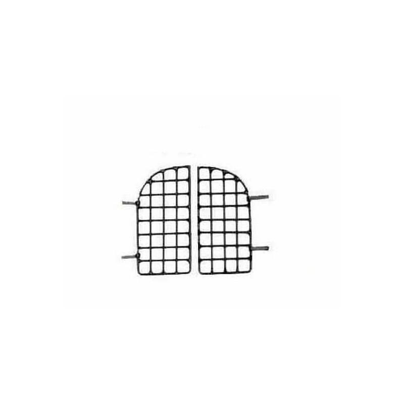 Mondo Presepi Gratta doppia anta in metallo piccola cm 4