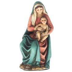 Mondo Presepi Madonna con bimbo in braccio 11 cm Landi