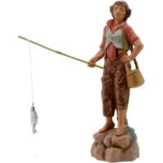 World Presepi Fisherman of river 19 cm Fontanini
