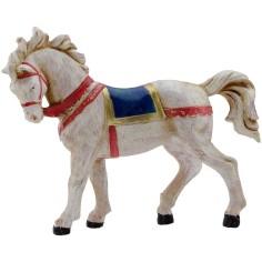 Mondo Presepi Cavallo bianco 12 cm Fontanini