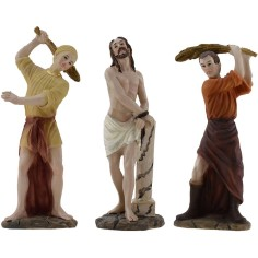 Flagellation scene 12-13 cm Paschal statues