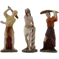 Scena Flagellazione cm 12-13 Statue Pasquali