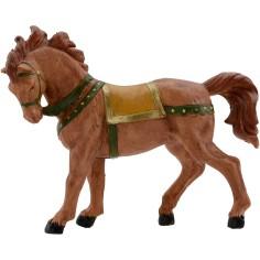 Mondo Presepi Cavallo marrone 12 cm Fontanini