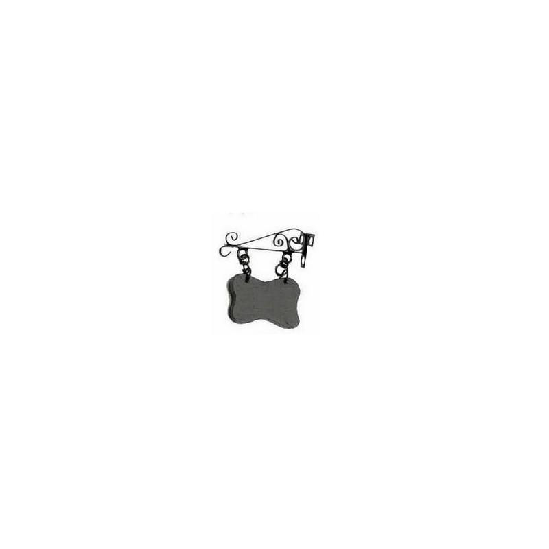 Mondo Presepi Insegna cm 2,5 in metallo - 6470 - aa11