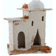World Presepi House Arab with dome and doors 14x14x17, 5