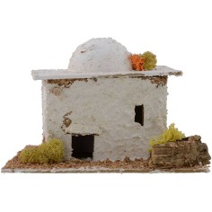 Arab House for presepe cm 16x15x11, 5 h.