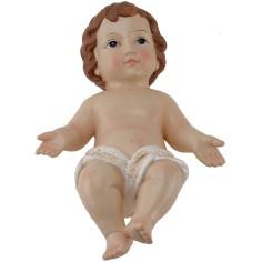 Gesù Bambino 18 cm presepe