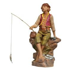 Fisherman sitting series 30 cm Fontanini