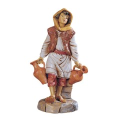 Maiden with brocche series 30 cm Fontanini