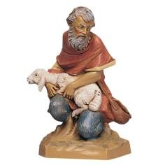 Pastor on knee series 19 cm Fontanini