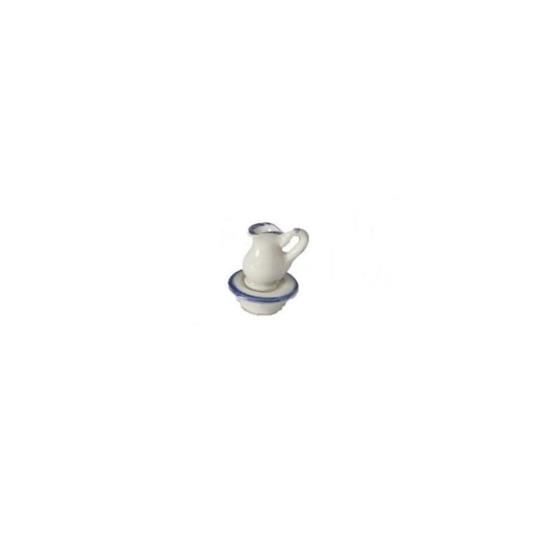 Mondo Presepi Brocca in ceramica cm 1,5