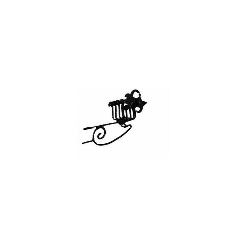 Empty lux metal lantern 8498