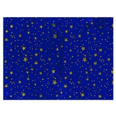 Sky paper for metallized presess with gold stars 100x70 cm