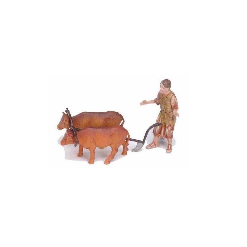 10 cm peasant with plow