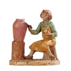 Ceramista serie 6,5 cm Fontanini Mondo Presepi
