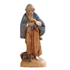 Vecchio con bastone 6,5 cm Fontanini Mondo Presepi
