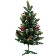 Christmas tree grafted 60 cm with red berries and pigne