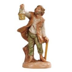 Man with lantern 6.5 cm Fontanini